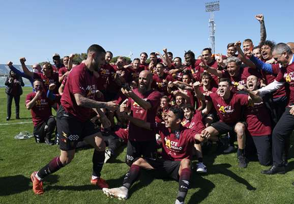 Салернітана вперше з 1999 року зіграє в Серії А