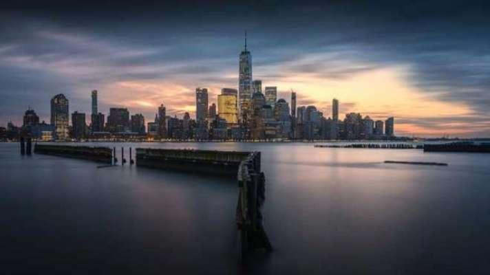 Пилот создает особые фото городов