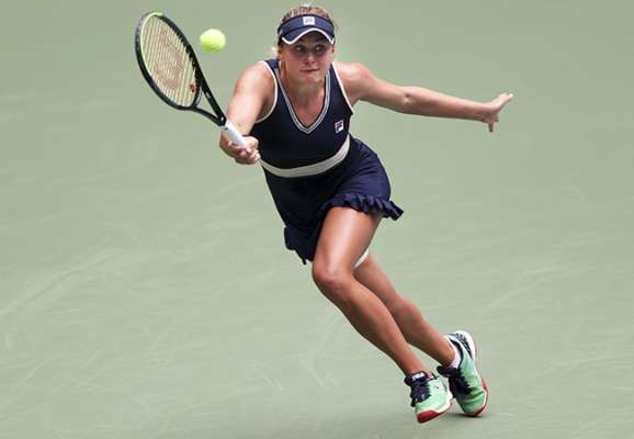 Козлова покинула турнір у Франції на стадії 1/8 фіналу