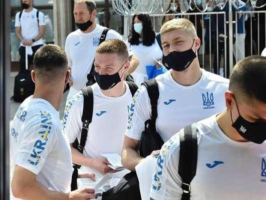 Сборная Украины прибыла на матч с Нидерландами. Фото