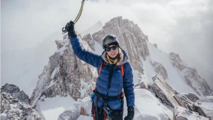 Історичний момент: перша українка піднялася на найнебезпечнішу вершину світу