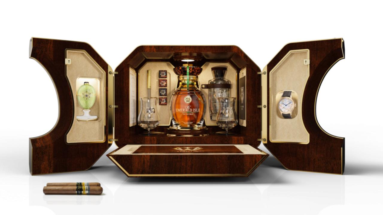 Подарочный набор ирландского виски продали за 2 миллиона