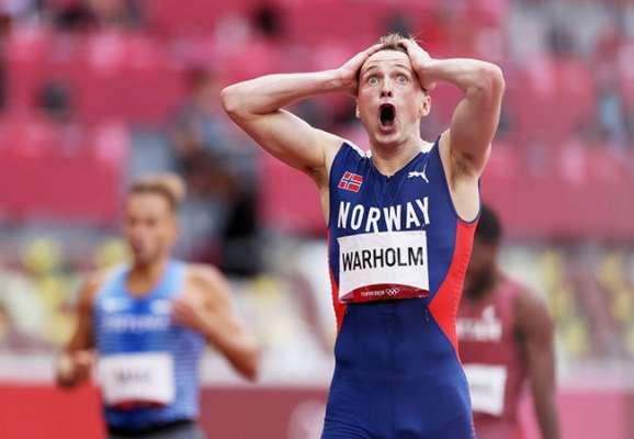 Норвезький легкоатлет побив свій же світовий рекорд в бігу на 400 метрів з бар'єрами