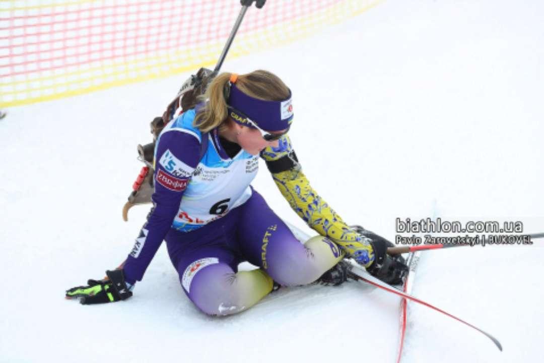 ЮЧУ-2021 з біатлону. Олександра Меркушина виграла індивідуальну гонку