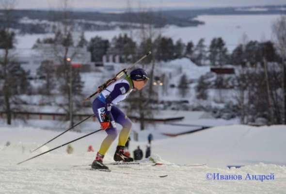 Меркушина-старшая выиграла масс-старт на чемпионате Украины