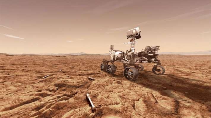 Марсохід NASA шукає сліди життя на Червоній планеті