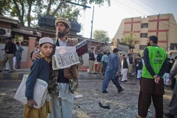 Теракт на митинге в Пакистане: есть жертвы