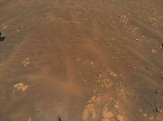 Марс вражає: гелікоптер Ingenuity зробив нові знімки Червоної планети