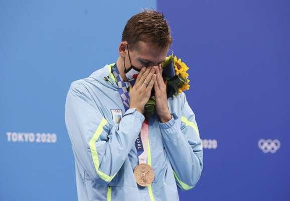 Медаль Романчука стала для України першою в плаванні з 2004 року