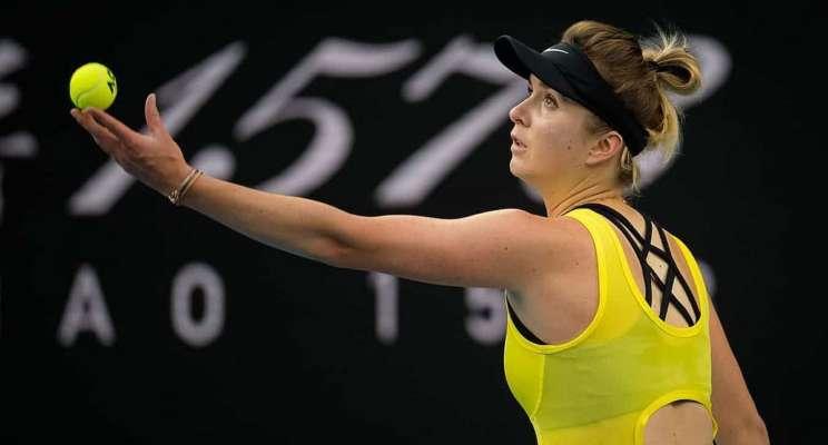 Свитолина победно начала турнир в Индиан-Уэллс