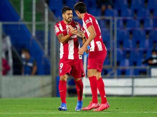 Дубль Суареса позволил Атлетико вырвать победу над Хетафе