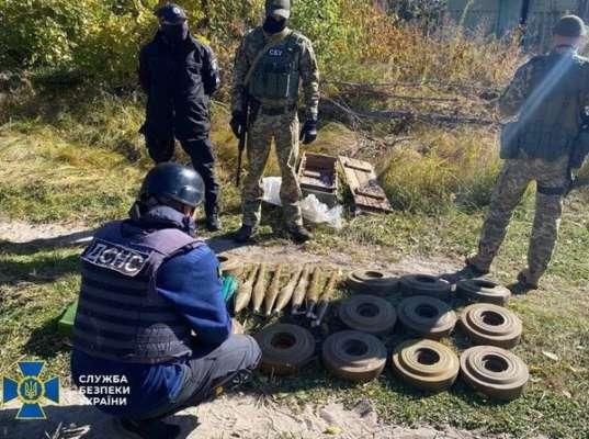 СБУ Луганской области сумела выявить схрон боевиков