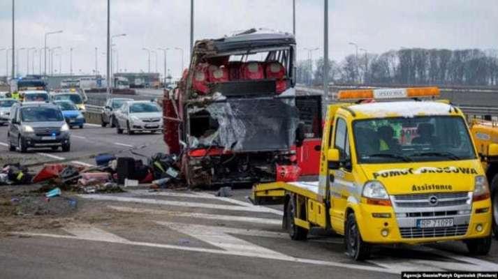 Авария украинского автобуса в Польше: водителю грозит 8 лет тюрьмы