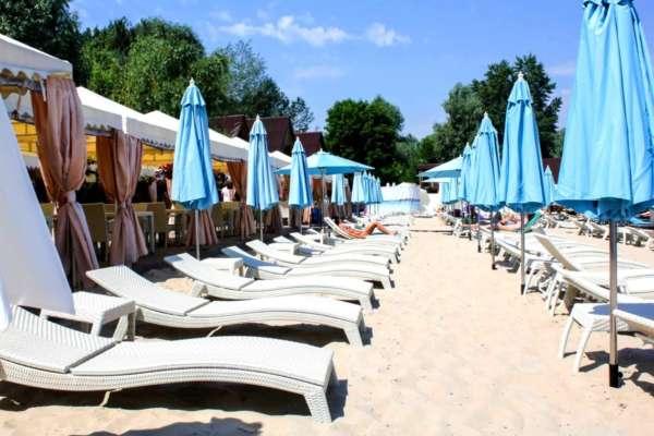 Безпечні пляжі Києва