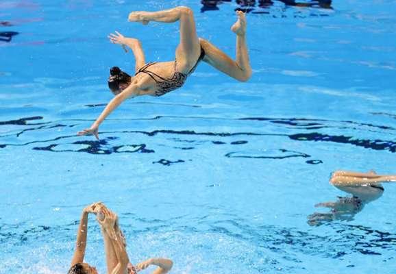 Украинки выиграли второе золото на чемпионате Европы по артистическому плаванию