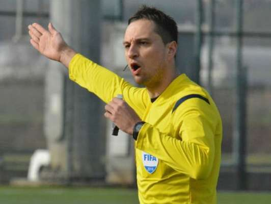 Українець Балакін буде працювати головним суддею матчу ЛЧ