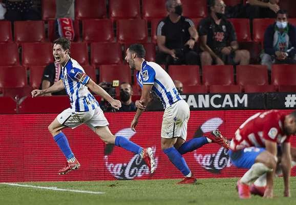 Реал Сосьедад в драматичном матче обыграл Гранаду. Выездная победа Бетиса