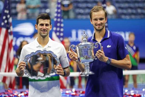 Джокович програв Медведєву фінал US Open