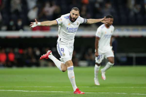 Бензема забил юбилейный мяч за Реал в чемпионате Испании