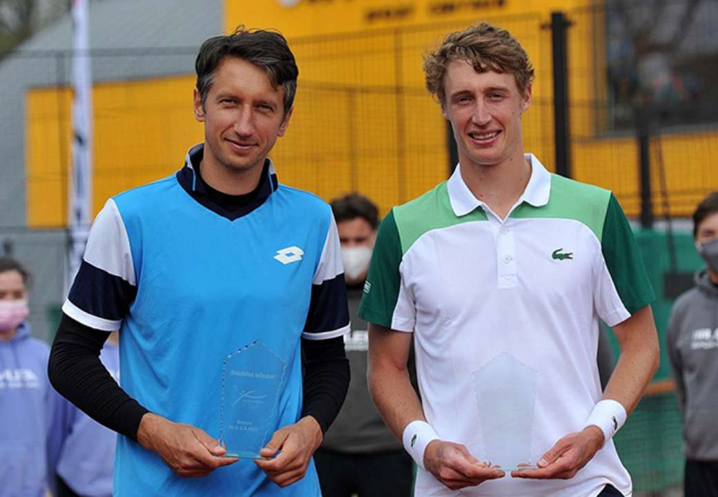 Стаховський став чемпіоном турніру в Остраві в парному розряді