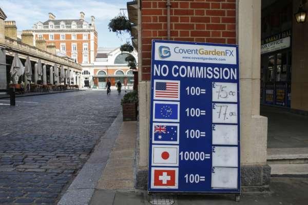 Дошка з курсом валют