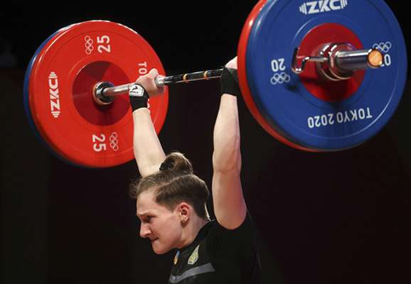 Тяжелая атлетика. Конотоп заняла пятое место в категории до 55 кг