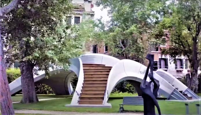 В Италии построили бетонный мост, который напечатали на 3D-принтере