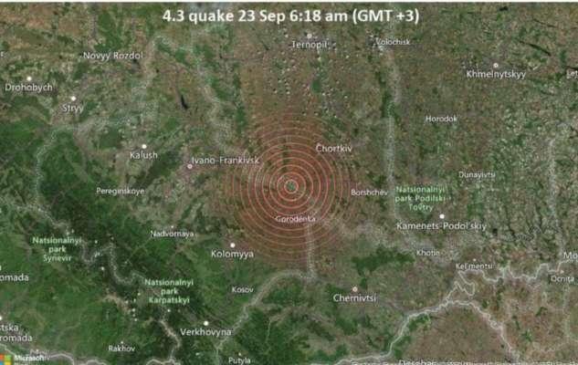 На западе Украины произошло землетрясение: толчки почувствовали жители 4 областей