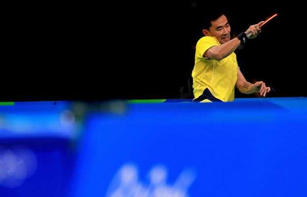 Настільний теніс. Українець Коу Лей не зміг перемогти єгиптянина