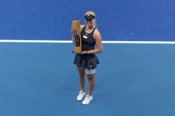 18-летняя датчанка Таусон выиграла второй титул WTA