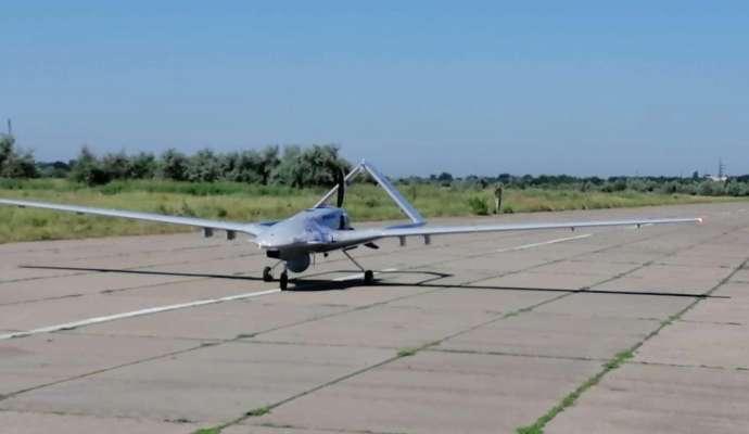ВМС Украины получили первый турецкий беспилотник Bayraktar TB2