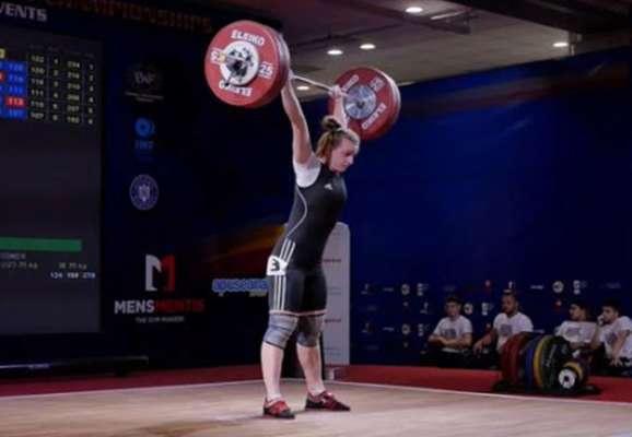 Украинка Деха выиграла третье золото на чемпионате Европы по тяжелой атлетике