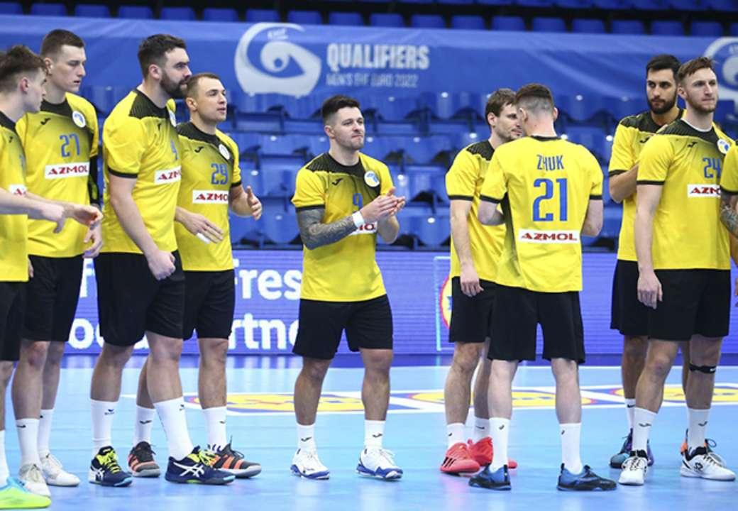 Украина уступила Чехии в матче квалификации на гандбольный Евро