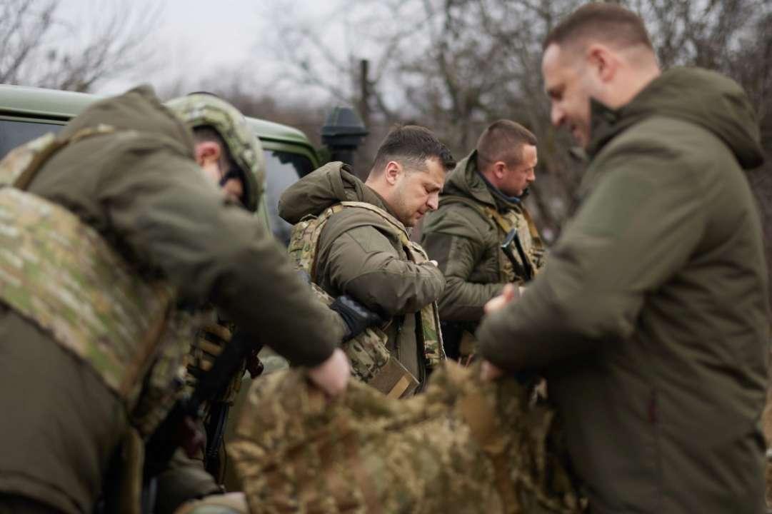 Зеленський вирушив на передову через загострення конфлікту на Донбасі