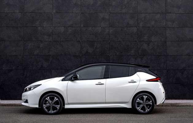 Nissan випустили спеціальну версію електрокара LEAF10