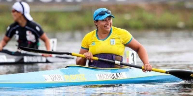 Украинка Мажула завоевала серебро Паралимпиады в гребле на байдарке