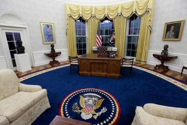 Овальний кабінет Білого дому. Що змінилося після Трампа