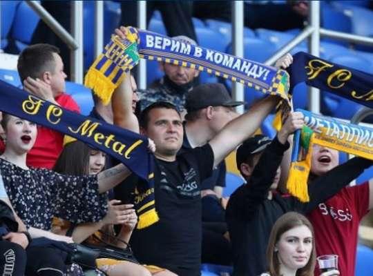 На матчі Метал - Кривбас був встановлений новий рекорд відвідуваності Другої ліги