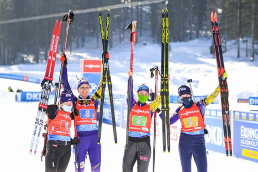 Стали відомі призові українських біатлоністів за сезон 2020/2021