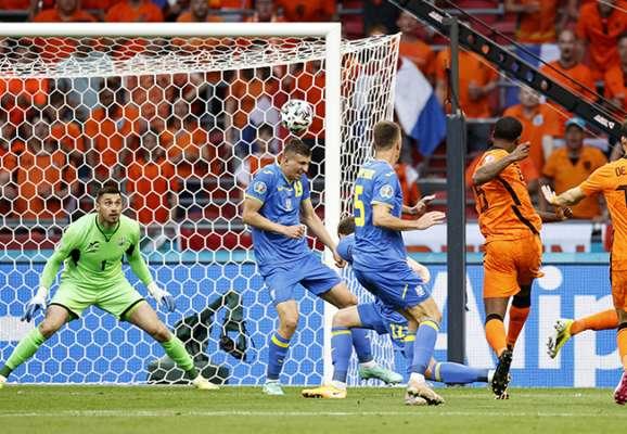 Нідерланди завдали 7 ударів за 10 перших хвилин матчу з Україною