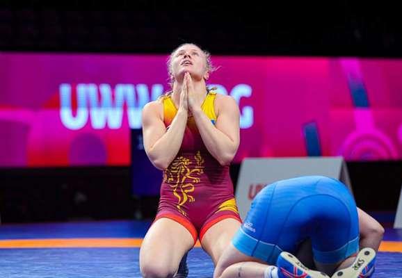 Дві українки стали чемпіонками Європи з вільної боротьби