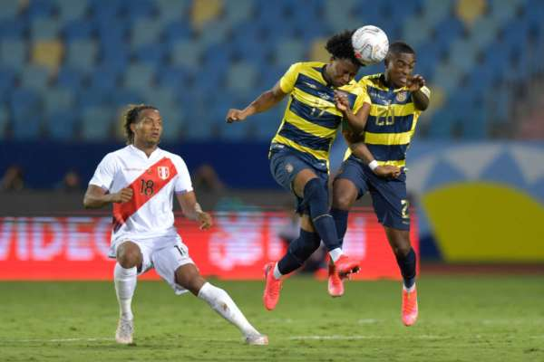 Еквадор - Перу - 2:2. Огляд матчу і відео голів