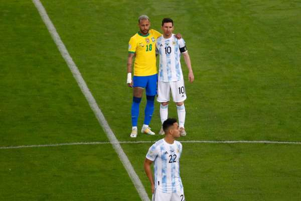 Месси и Неймар вошли в символическую сборную Кубка Америки. Фото