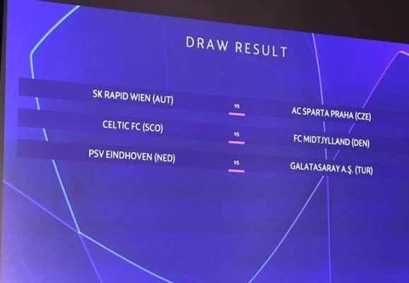 Відбулося жеребкування 2-го кваліфікаційного раунду Ліги чемпіонів