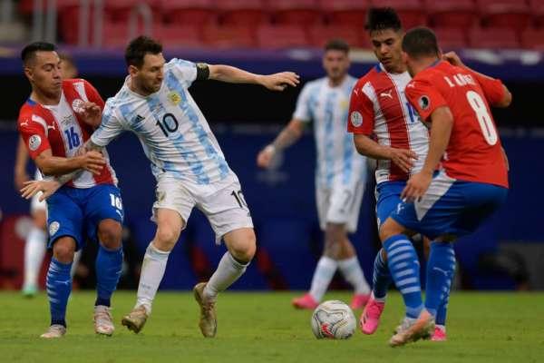 Аргентина - Парагвай - 1:0. Огляд матчу і відео голу
