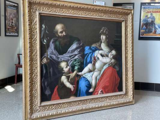 У США професор випадково знайшов у церкві картину XVII століття, яка вважалася втраченою