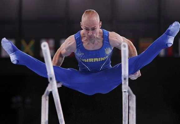 Пахнюк показав сьомий результат у фіналі Олімпіади у вправі на брусах