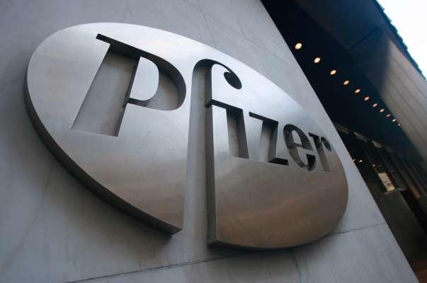 Вывеска Pfizer