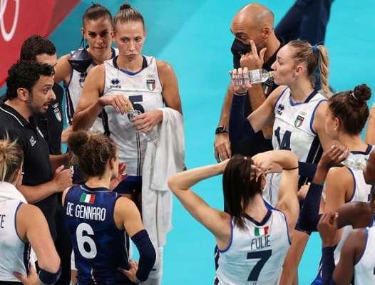 Чемпіонат Європи. Жіноча збірна Італії розгромила Росію і вийшла в півфінал