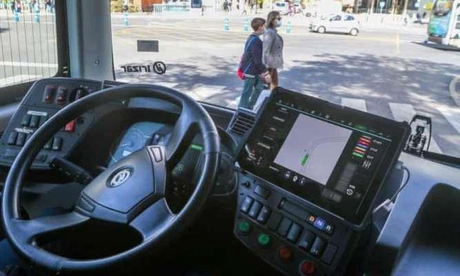 В Іспанському місті курсує безпілотний електроавтобус